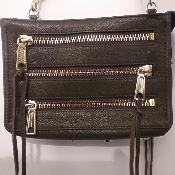 Rebecca Minkoff Handbags - Leather Rebecca Minkoff 5-Zip Crossbody Bag